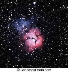 M20, the Trifid Nebula in Sagittarius