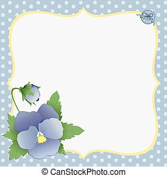 Cute template for Mothers Day postcard - Cute template for...