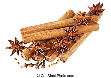 Seasoning - Syzygium aromaticum, anise, cinnamon sticks and...