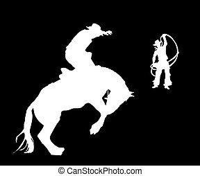 The Rider - The Rider and cowpuncher try to stop the horse
