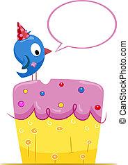 Birthday Bird Greeting