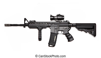US Army Spec Ops M4A1 custom build assault carbine. - Modern...