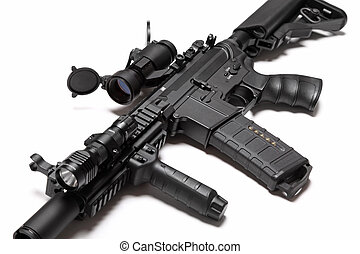 US Special Forces M4A1 custom build assault rifle - Modern...