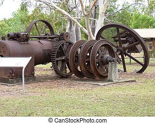 bicentenario, parque,  Australia, mineros