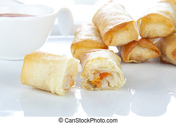Ready to Eat Spring Rolls
