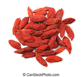 Fructus lychii goji wolfberry - Pile of red fructus lychii...