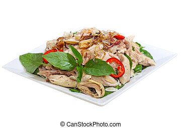 Chicken Salad - Chicken salad Vietnamese cuisine called ga...