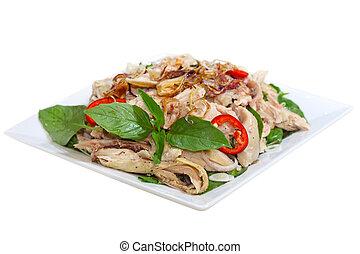 Chicken Salad - Chicken salad Vietnamese cuisine called ga...