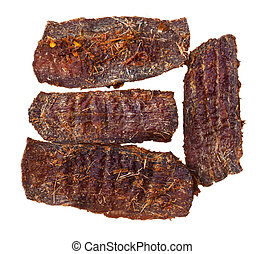 Beef Jerky - Home made beef jerky from eye round meat