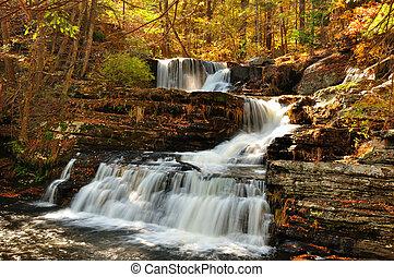 Upper falls at Delaware Water Gap
