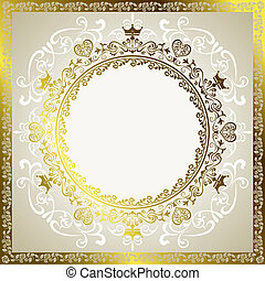Abstract decoration frame - Illustration vector