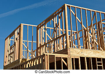 Two Story Home Under Construction