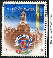 postage stamp - CANADA - CIRCA 2003: stamp printed by...