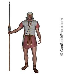 Imperial Roman Legionary Soldier - Legionary soldier of the...