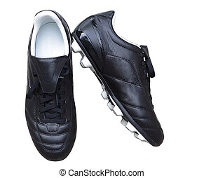 Soccer Cleets - Outdoor soccer cleats shoes isolated on...