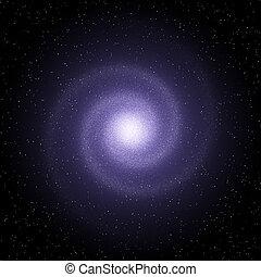Galaxy - galaxy (fantastic kind of a nonexistent galaxy)
