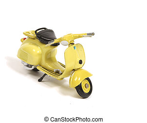 Replica of a famous fifties scooter