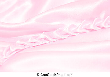 Pink Background - Elegant Pink satin for abstract background...