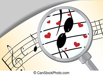 Music in love