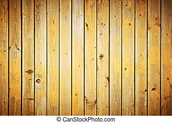 Wood planks texture Vintage fence background