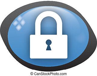 lock icon - lock closed