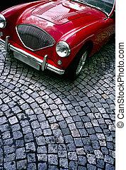 Oldtimer - Red oldtimer