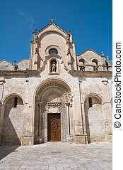 St. Giovanni Battista Church. Matera. Basilicata.
