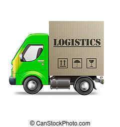 logistics delivery truck