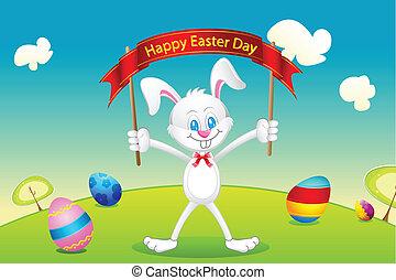 Bunny Wishing Easter