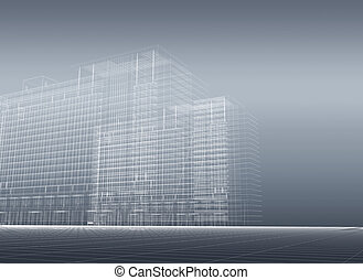 Architectural 3D construction