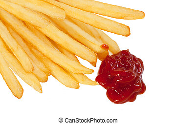 French Fries and Ketchup - Frech fries and ketchup...