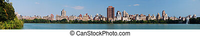 New York City Central Park panorama in Manhattan