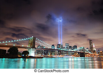 New York City skyline - Remember September 11 New York City...