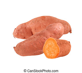 Yam sweet potatoes