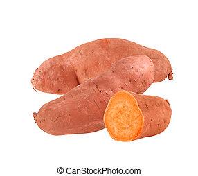 Yam sweet potatoes