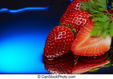 strawberry red blue aqua diet