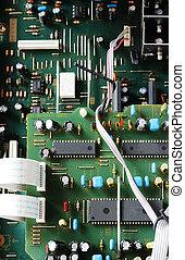 Circuitboard - Green electronical Circuitboard