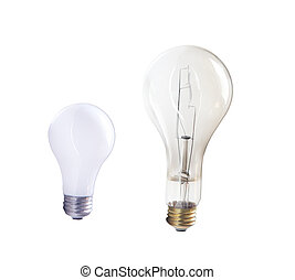 Incandescent Bulbs - Two Incandescent Bulbs
