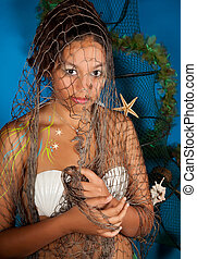 Zodiac pisces girl - Pisces or Fish woman, this photo is...