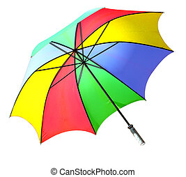 Golf Umbrella - Colorful wind resistant golf umbrella,...