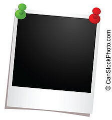 photo frame with buttons