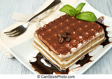 Tiramisu, classical from Italian tradition