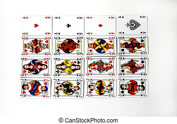Playing cards - Set of playing cards