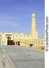 Qatar State Mosque vertical