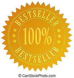 Bestseller star - Bestseller gold star