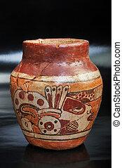 pré, Colombien, vase