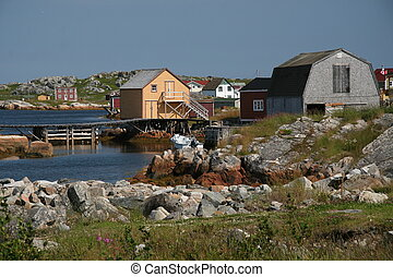 Tilting, Newfoundland - Olde View in Tilting, Newfoundland,...
