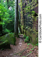 Alabama Canyon - A beautiful secluded canyon northern...