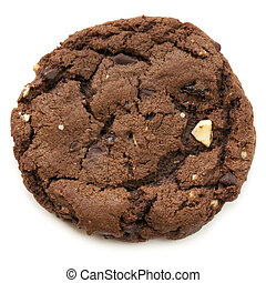 Chocolate Fudge Cookie - Large chocolate fudge cookie,...