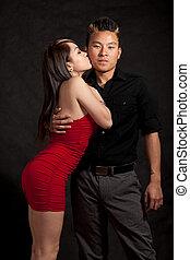 Attractive young twenties couple